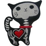 X-ray Cat Kitty Funny-Cat Iron On