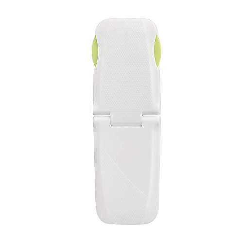 2ST Wiederverwendbare Kindersicherheitsschränke Schlösser Einstellbarer Kinderbeweis Verriegelungen für Bratoefen WC-Sitz Kühlschranktür mit stark klebendes No Drill Grün -