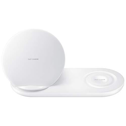 happy event 2 in 1 Schnellladegerät für kabelloses Ladegerät für Samsung Handy und Samsung Uhr (Weiß)