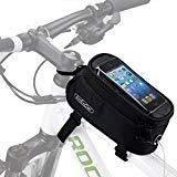 ArcEnCiel Bike Frame Bag Bicycle Top Tube Pouch Waterproof Cell Phone Holder ≤
