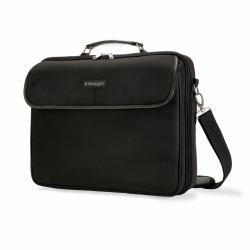 Kensington SP30 Clamshell-Tasche, schwarz, bis 39,6 cm (15,6
