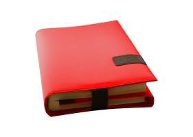 BookSkin, (Nylon) rubin-rot