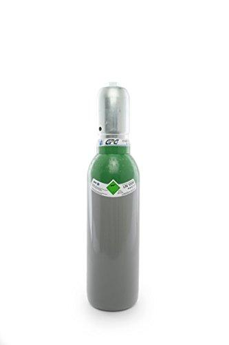 Hohe Reinheit Der Luft (Argon 4.6 5 Liter Argonflasche / NEUE Gasflasche (Eigentumsflasche), gefüllt mit Argon 4.6 (Reinheit 99,996%) / 10 Jahre TÜV ab Herstelldatum / EU Zulassung / Schweißargon WIG,MIG - Globalimport)