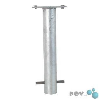 Preisvergleich Produktbild POV® Bodenhülse mit Befestigungsplatte