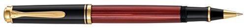 Pelikan 923102 Tintenroller Souverän R 400, schwarz/rot