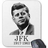 Rectángulo ratón JFK John F Kennedy sacabalas