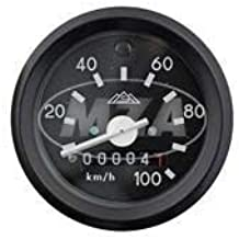 MOPED MOKICK Tacho mit Blinkerkontrolle 100 km//h Ø60 Chromring S51 S70 S53 S83