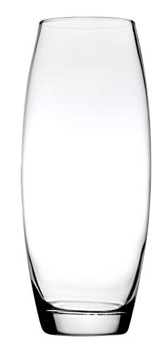 """Pasabahce 43966 - Glasvase """"Botanica"""" mit Bauch, elegant, hoch, zeitlos, Höhe 26cm"""