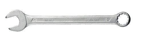Chrom 18 (CONNEX Gabel-Ringschlüssel, abgewinkelt, Chrom Vanadium, 18 mm)