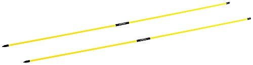 Callaway Stix Ausrichtungsstäbe, zum Trainieren/Üben, Gelb (Golf-stick)