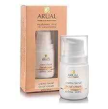 Arual Crema facial con ácido hialurónico, 10 tratamientos, 50 ml