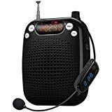 Zoweetek SHIDU Mini Voice Amplifier with Wireless Microphone, Support FM Radio Function