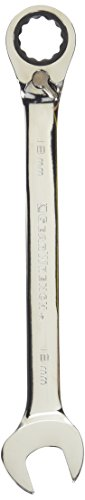 Clé 9618 18 mm Réversible Combinaison Clé à cliquet