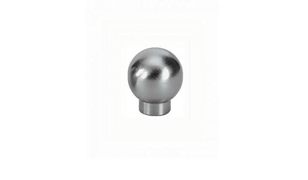 Bouton de meuble Itri en acier inoxydable