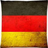 DSL&HXY Cool Germany German National Flag and Map Pattern Custom Zippered Pillow Cases 18x18 (Main)
