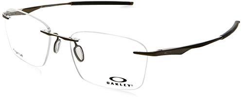 Ray-Ban Herren 0OX5115 Brillengestelle, Braun (Satin Pewter), 53