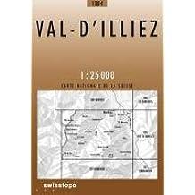 Carte routière : Val d'Illiez