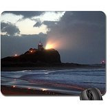 nightlights-nobbys-lighthouse-mouse-pad-mousepad-beaches-mouse-pad