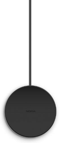 Nokia DT-601 Wireless Charging Plate Drahtloses Tragbares Ladegerät Kompatibel mit Nokia Lumia 820/920/925/1020 und 1520 - Schwarz