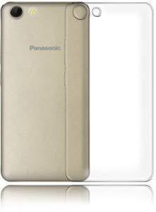 Panasonic P55 Novo Totu Cases Plain Soft Ruber Silicon Back Cover - Transparent