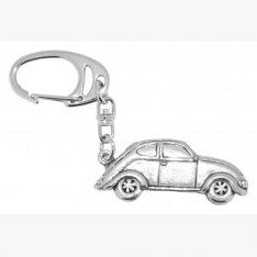 fine-quality-english-pewter-volkswagen-beetle-keyring-lovely-gift-idea