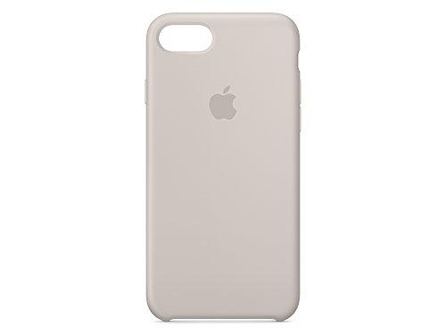 Apple MMY52ZM/A iPhone 7 Leather Hülle schwarz steingrau