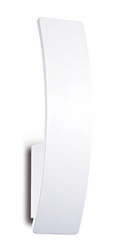 Ideal Lux Vela AP1 Lampada, Bianco