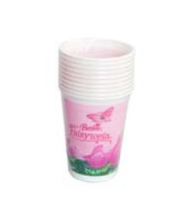Barbie Procos Fairytopia Partybecher 0,2ltr. (Barbie Party Birthday Dekorationen)