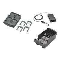 Zebra SAC-MC32-400INT-01 Kit (INTL), inklusiv 4 Slot-Akku-Ladegerät SAC7X00-4000CR, Adapter ADP-MC32-CUP0-04 -