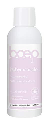 Organics Bio-baby-Öl (boep babymandelöl - Babyöl für die Neugeborenenpflege & Massage - Naturkosmetik, liebevoll entwickelt von einer Ärztin und Mama (150ml))