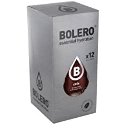 Paquete de 12 sobres bebida Bolero sabor Kola