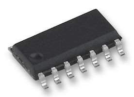 IC, QUAD 2-INPUT AND, SMD, 74HC08 SN74HC08DR By TEXAS INSTRUMENTS -