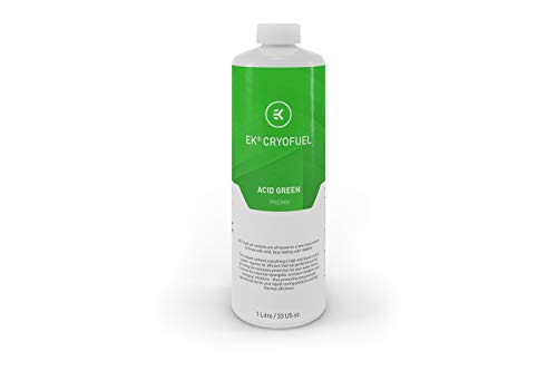 EK Water Blocks 3831109813294 - EK-CryoFuel Acid Green Premix Fluid - 1 Litre -