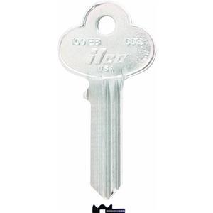 Kaba Ilco Kohlenmonoxid CO–1001eb Schlüsselrohling für Corbin Flanschbefestigung, das entspricht Corbin Schlüsselrohling x1–27–5