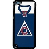 Colorado Avalanche Alternate Jersey Case / Color Black Plastic / Device iPod Touch 6 -