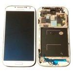 Samsung GH97-14655A Ersatz-Display LCD Galaxy S4i9505White Frost