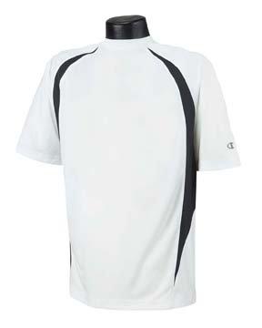 Champion da uomo doppio Dry elevazione T-Shirt nero/bianco M Champion da uomo doppio Multicolore - bianco/nero