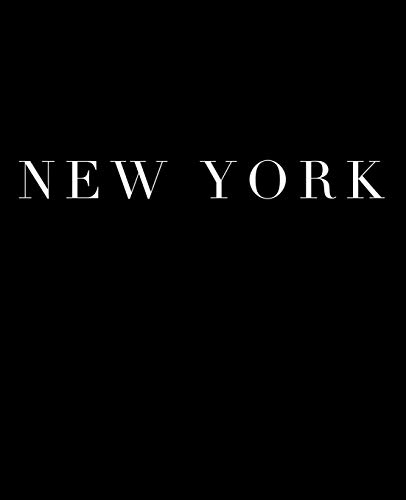 New York: A decorative book for coffee tables, bookshelves and interior design styling | Stack deco books together to create a custom look in any room (Cities of the World in Black, Band 4) -