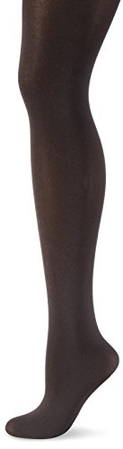 Wolford Satin Opaque 50, Collant Donna, 50 DEN Nearly Black, L