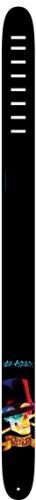 arrengurt Leder 2,5 Zoll/6,35 cm Slash Schädel mit Hut (Schädel-hut-band)