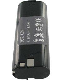 Preisvergleich Produktbild Akku für RYOBI HBD72TR, 7.2V, 2500mAh, Ni-MH
