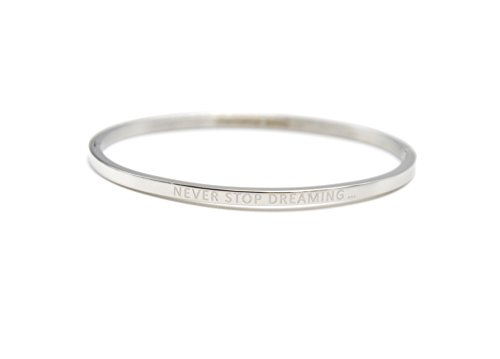 bc2132f-bracelet-jonc-fin-acier-argente-avec-message-never-stop-dreaming