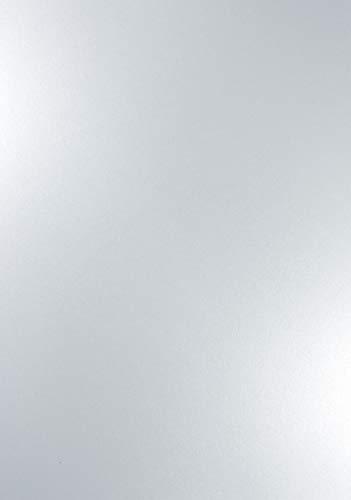 Weiß 120g Papier DIN A4 210x297mm Majestic Marble White - ideal für Hochzeit, Geburtstag, Taufe,Weihnachten, Einladungen, Diplome, Geschenktüten, Visitenkarten, Briefkarten ()