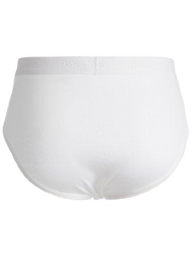 JBS Herren Basic Slip Dess. 300 Weiß
