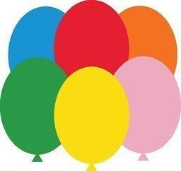 Mayflower Balloons 38135 17 Inch Standard Assortment by Mayflower Products