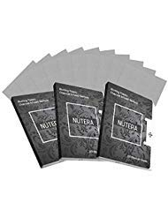 Nutera Beauty Natural Bamboo Charcoal Oil Absorbing Tissues - 300 Sheets - Premium Oil Blotting Paper for Face - Facial Skin Care Make Up (100 Sheets 3 Packs) (Global Premium Beauty Care)