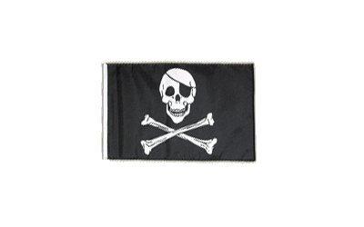kull and Bones 30 x 45 cm (Piraten Wimpel Flaggen)