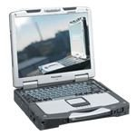 Refurbished Fully Ruggardised MEGA High specification GPS Panasonic Toughbook CF-31 Laptop. High performance Intel i5 DUAL CORE 2.4GHz processor, Massive 8GB RAM, DVD multidrive, WIFI, 13.1