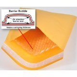 250 (150+100) #0 6.5x10 PREMIUM Kraft Bubble Mailers Padded Shipping Envelope Bags by E-LITE