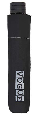 Paraguas Vogue Plegable Negro. Super Mini. Se Trata